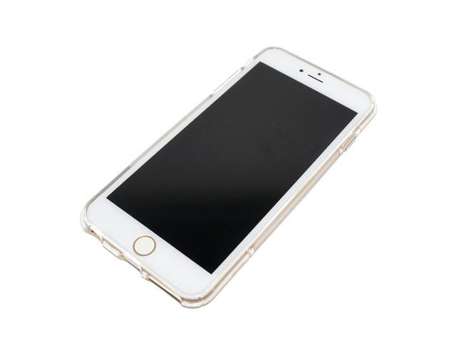 huge discount b024d 891a4 Custom Fit Ultra Slim Thin TPU Silicone Gel Soft Jelly Protective Snap On  Back Case Cover For Apple iPhone 6 Plus (5.5 inch) with Screen Protector -  ...
