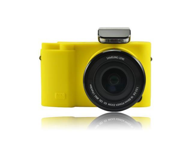 Protective Silicone Gel Soft Rubber Camera Case Cover Bag Compatible For  Samsung NX3000 Camera with 16-50mm Lens / 20-50mm Lens Yellow - Newegg com