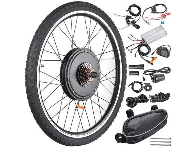 48v 1000w 26 Rear Wheel Electric Bicycle Lcd Display Motor Engine Kit E Bike