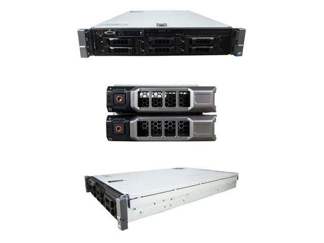 Refurbished: DELL PowerEdge R710 2 x 2 40Ghz E5530 Quad Core 32GB 2x 146GB  15K SAS 6i 2PS - Newegg com