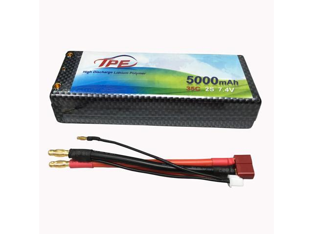 7 4v Lipo Battery 2S RC Car Battery 5000mah for RC Helicopter RC Airplane  RC Hobby with Dean-Style T Connector - Newegg com