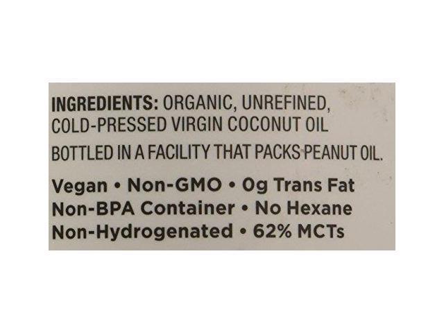 Organic Virgin Coconut Oil - 15 fl  oz (444 ml) by Nutiva - Newegg com