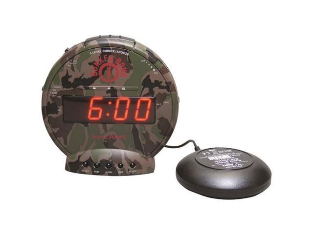 Sonic Boom SBB500ss Sonic Bomb Loud Plus Vibrating Alarm Clock NEW Free Shipping