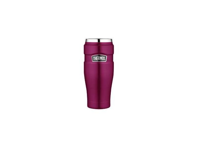 8c586daef8e Thermos Stainless King Vacuum Insulated Travel Tumbler - 16 oz. - Stainless  Steel/Raspberry