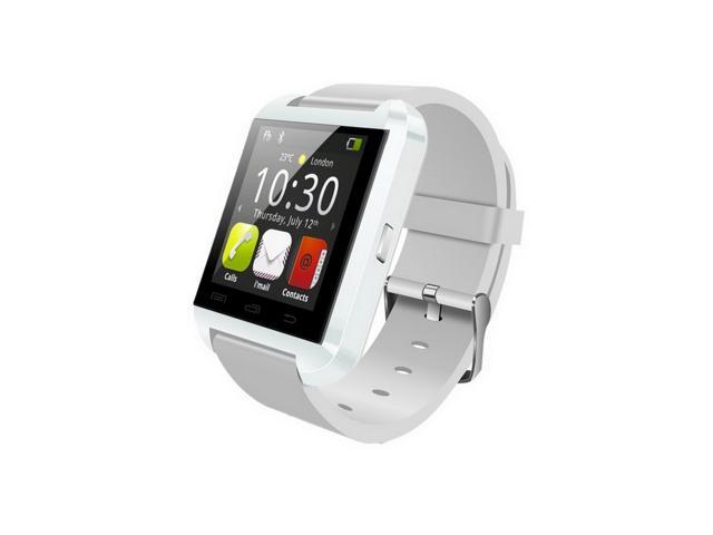 a91f1e8de Wemelody U8 Plus Bluetooth Smartwatch Wristwatch Phone Mate for Samsung  Huawei HTC Android Smartphones(White