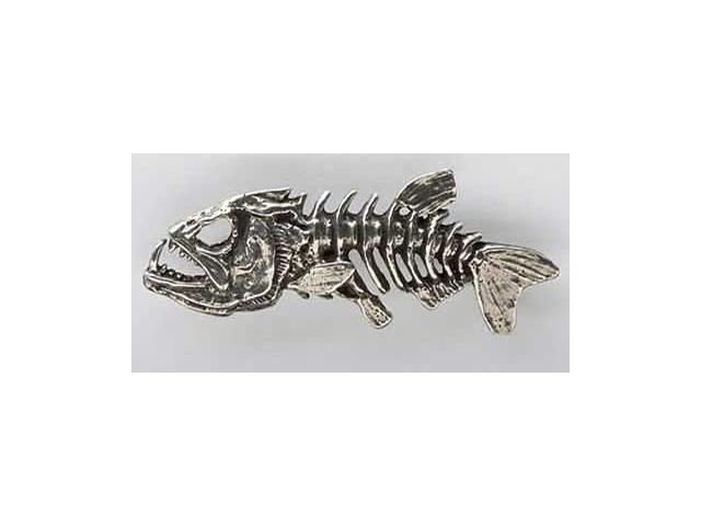 Pewter ~ Skeleton Fish ~ Lapel Pin / Brooch ~ F112 - Newegg com