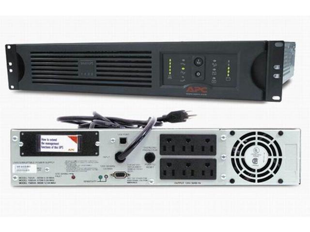 SUA750RM2U w// Network Management Card and Batteries APC Smart-UPS 750