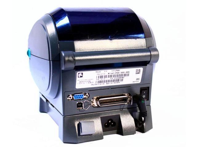 Refurbished: Zebra ZP 505 Direct Thermal Barcode Label Printer  ZP505-0503-0020 (USB/Peeler/Parallel) 203DPI - Newegg com