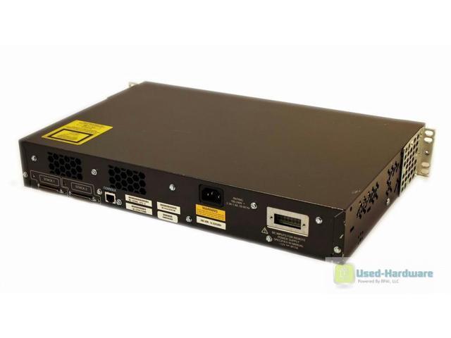 Cisco WS-C3750G-24TS-S 24-Port 10//100//1000 4 SFP Gigabit Stackable Switch 1.5U