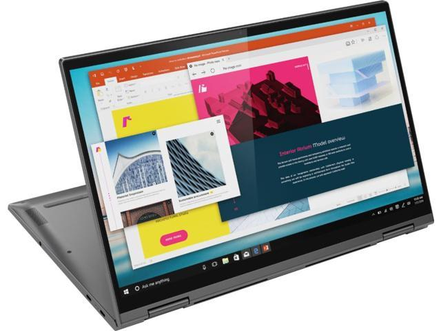 Lenovo Yoga C740 2 In 1 15 6 Touch Screen Laptop Intel Core I5 12gb Memory 256gb Solid State Drive Iron Gray Tablet 81td0003us Newegg Com