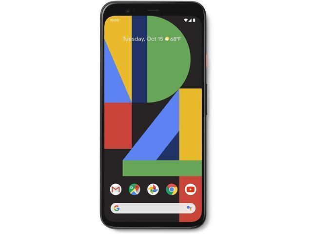 Google Pixel 4 XL - Just Black - 64GB - Unlocked Smart Cell Phone