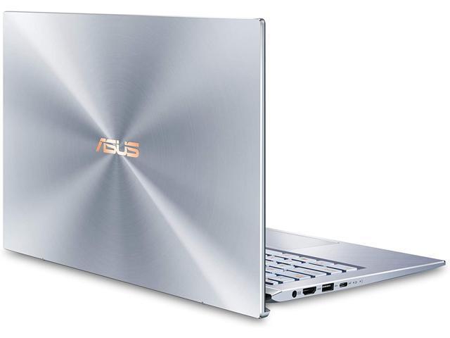 "ASUS ZenBook 14 Ultra Thin and Light Laptop, 4-Way NanoEdge 14"" FHD, Intel Core i5-10210U, 8GB RAM, 512GB PCIe NVMe SSD, Wi-Fi 5, Windows 10 Home, Utopia Blue, UX431FA-EH55 Notebook"