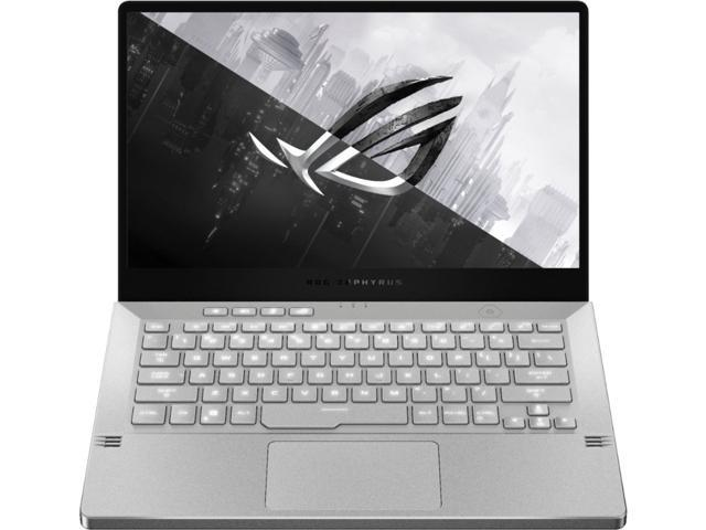 "ASUS - ROG Zephyrus G14 14"" Gaming Laptop - AMD Ryzen 9 - 16GB Memory - NVIDIA GeForce RTX 2060 Max-Q - 1TB SSD - Moonlight White GA401IV-BR9N6 Notebook PC Computer"