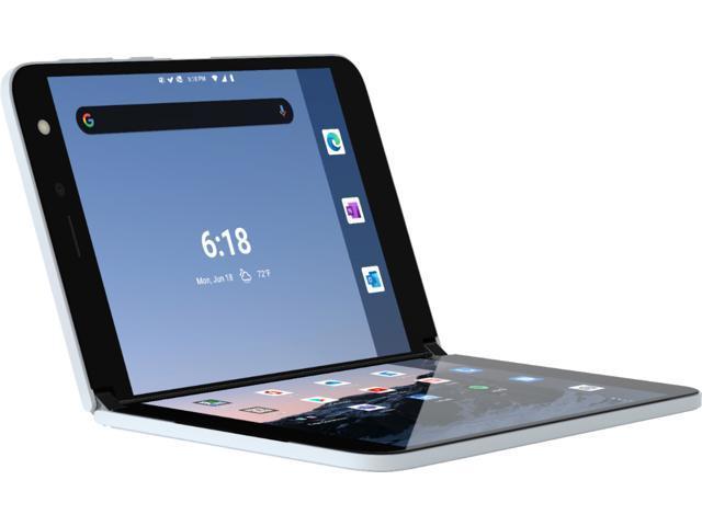 Microsoft Surface Duo 128GB (Unlocked) - Glacier TGL-00001 Smart Cell Smartphone