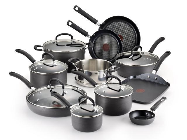 T Fal E918SH Ultimate Hard Anodized Durable Nonstick Expert Interior  Thermo Spot Heat Indicator