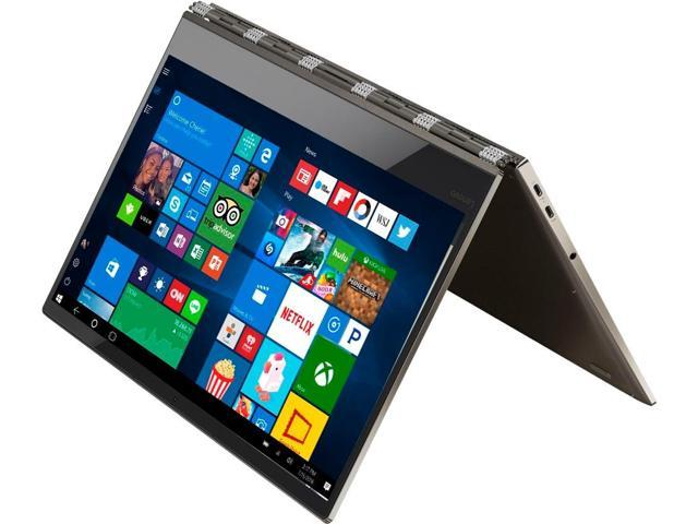 Lenovo Yoga 920 2-in-1 Laptop - Intel Core i7 8th Gen 8550U (1 80 GHz) 8 GB  Memory 256 GB SSD 13 9