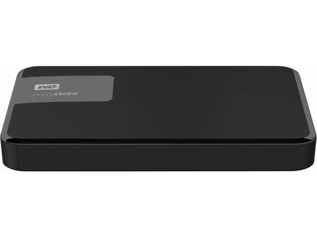 Easystore 4TB External USB 3.0 Portable Hard Drive WD Black