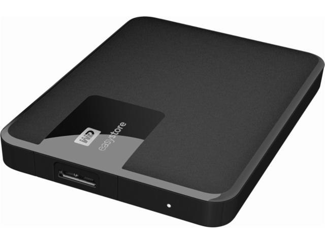WD - easystore® 1TB External USB 3 0 Portable Hard Drive - Black, Western  Digital WDBDNK0010BBK-WESN - Newegg com