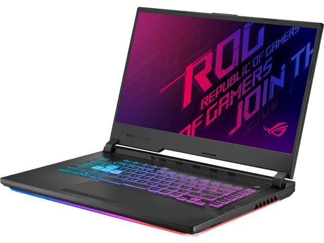 "ASUS ROG Strix G Gaming Laptop, 15.6"" 120 Hz IPS Type Full HD, NVIDIA GeForce GTX 1660 Ti, Intel Core i5-9300H, 8 GB DDR4, 512 GB PCIe NVMe SSD, RGB KB, Windows 10, GL531GU-WB53"
