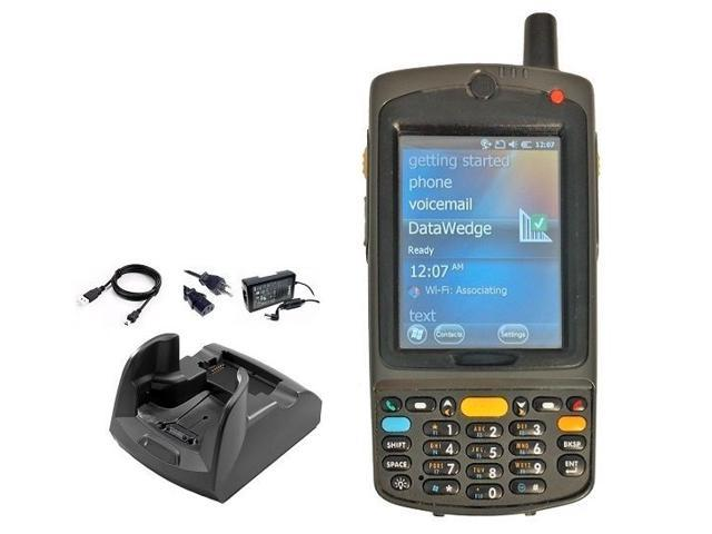 MC75 Wireless Handheld: 1D Laser Barcode Scanner, Windows Mobile 6 5 OS,  MC7596, Charger Included - Newegg com