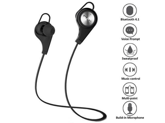 eb4443a8084 Wireless Sports Headset, Megadream® Bluetooth 4.1 +EDR Jogger Running  Sweatproof APT-X