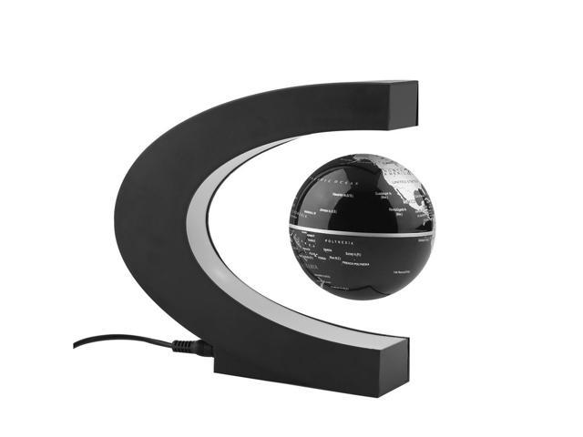 Globe 360 degree perfect show megadream funny c shape magnetic globe 360 degree perfect show megadream funny c shape magnetic levitation floating rotating globe world gumiabroncs Choice Image