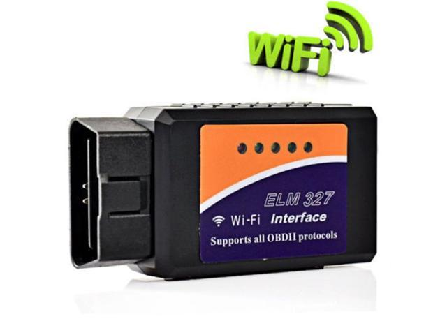 ELM327 WIFI Wireless OBD2 Car Diagnostic Reader Scanner Tool Adapter for  iPhone PC Mac and iOS - Newegg com