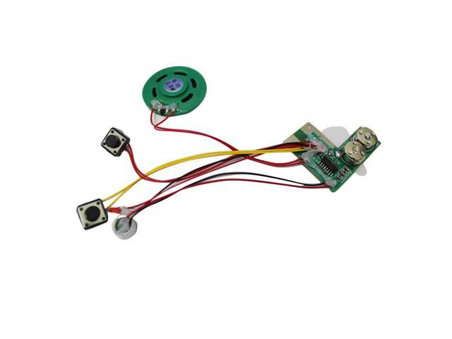 Recordable voice module for greeting card music sound talk chip recordable voice module for greeting card music sound talk chip musical m4hsunfo