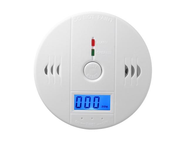 Carbon Monoxide Detectors Profession Home Safety Co Carbon Monoxide Poisoning Smoke Gas Sensor Warning Alarm Detector Lcd Displayer Kitchen Pretty And Colorful