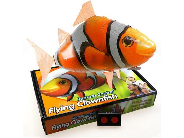 Creative Remote Control RC Inflatable Balloon Air Swimmer Flying Nemo Clown  Fish Blimp Best Birthday Gifts For Children - Newegg com