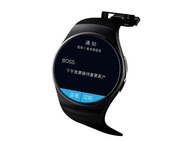 Bluetooth Smart Watch Phone KING-WEAR KW18 Sim&TF Card Heart