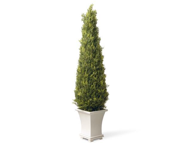 "42"" Potted Upright Juniper Artificial Tree"