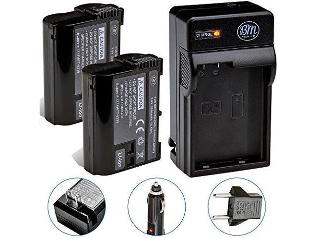 BM Premium ENEL15B Battery for Nikon Z6 Z7 D850 D7500 1 V1 D500 D600 D610  D750 D800 D800E D810 D810A D7000 D7100 D7200 Digital Cameras - Newegg com