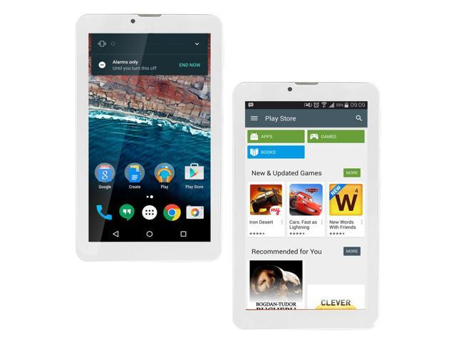 Indigi X23 7 0 inch Dual Core CPU Android Tablet 4GB Storage(microSD  Expandable) Mini Tablet - Perfect for YouTube & Browsing , White - Newegg ca