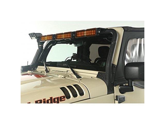 Rugged Ridge Light Bar Kit Windshield Mounted 07 18 Jeep Wrangler Jk 11232 26