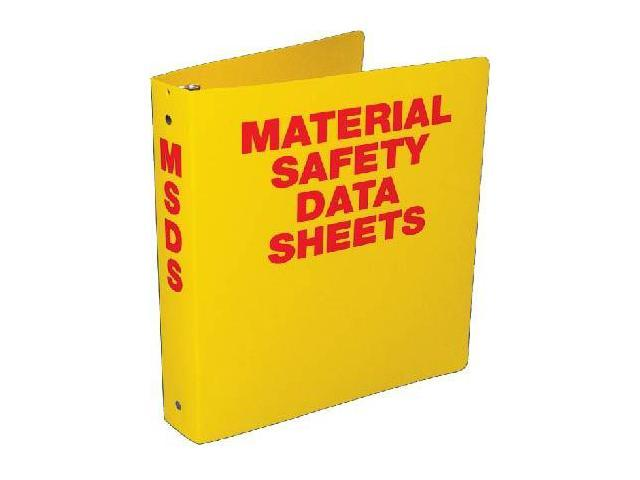 nmc rtk50 msds binder yellow 2 1 2 rings msds print on front and