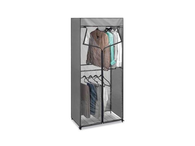 Whitmor 6905 5955 Double Rod Closet With Cvr Steel
