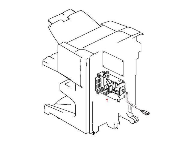 Hp 4g1 5170 040cn Power Supply Assembly