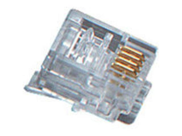 Black Box 50-Pack CAT5e Unshielded Modular Plug