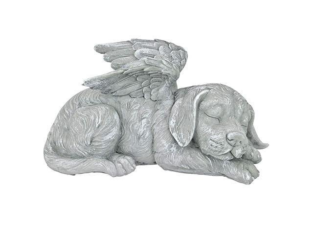 Design Toscano Dog Angel Pet Memorial Grave Marker Tribute