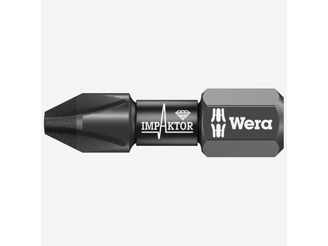 Wera 057620 #1 x 25mm Pozidriv Impaktor Diamond Coated Bit