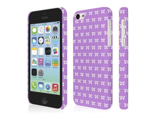 buy popular 54788 d5e68 iPhone 5C Case, EMPIRE Signature Series One Piece Slim-Fit Case for Apple  iPhone 5C - Put A Bow On It - Newegg.com