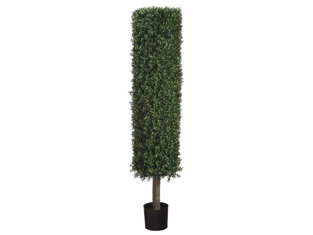 4 Foot 6 Inch Tall Boxwood Round Shaped Topiary Tree W Pot
