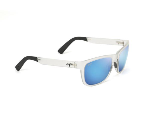 Authentic Polarized  MAUI JIM  SOUTH SWELL  Sunglasses  B755-05CM  Blue Lenses