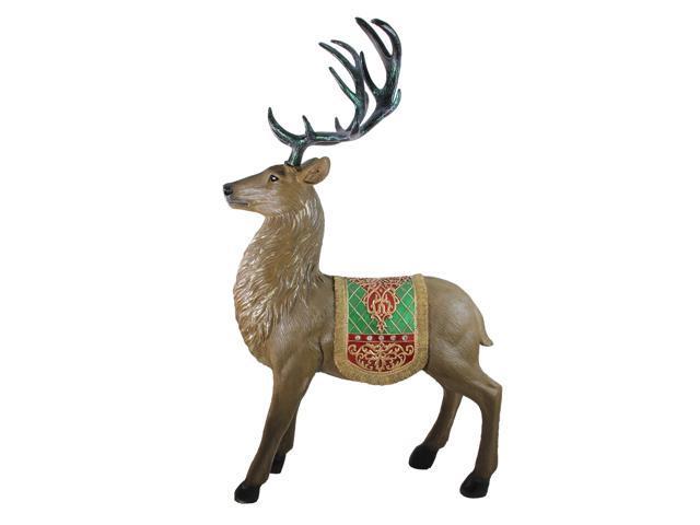 5 Commercial Grade Standing Reindeer Fibergl Christmas Outdoor Decoration