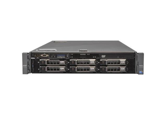 DELL POWEREDGE R710 SFF 2x QUAD CORE X5570 2.93GHz 48GB 2x 146GB 10K SAS PERC 6i