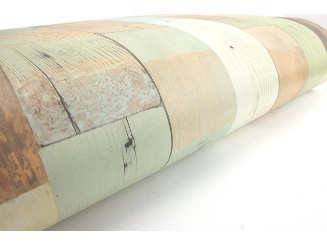 Reclaimed Wood Planks Panel Pattern