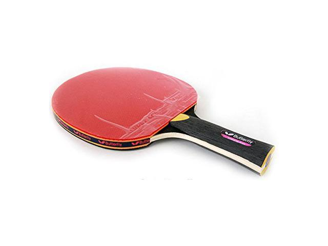 Butterfly ADDOY S10 Table Tennis Racket Shakehand Grip Ping Pong Racquet /& Ball