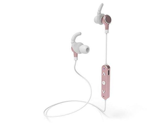 Tzumi Sport Series Wireless Earbuds – Rechargeable Magnetic Wireless Stereo  Earphones with Bluetooth V4 2 Technology and Built-In HD Microphone - Rose