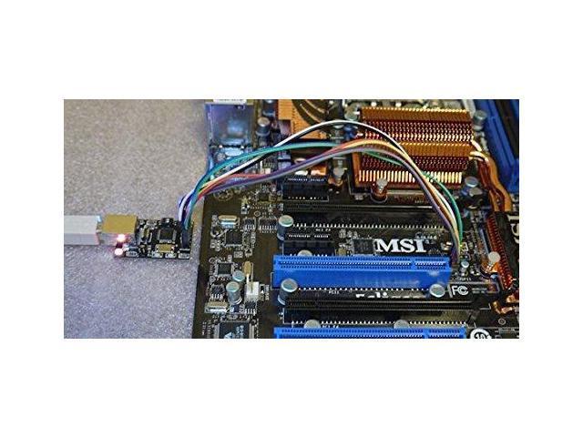 Flashcat USB Memory Programmer BIOS MSI EEPROM NAND SPI JTAG I2C SERIAL  (includes software + 3 cables) - Newegg com